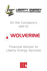 Transaction experience - Liberty Energy Services
