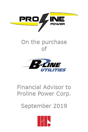 Proline Power Purchases B Line Utilities