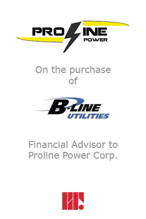 Proline Power Purchases B Line Utilities